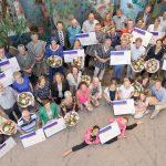 Chequeuitreiking Coöperatiefonds totaal - 12 mei 2016
